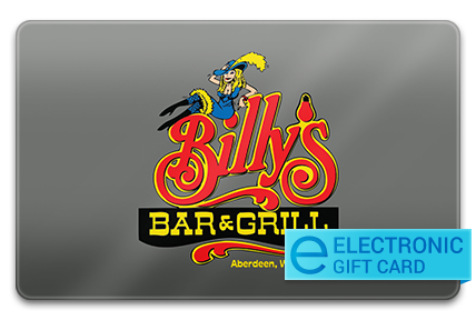 Billy's Bar & Grill E-Gift Card